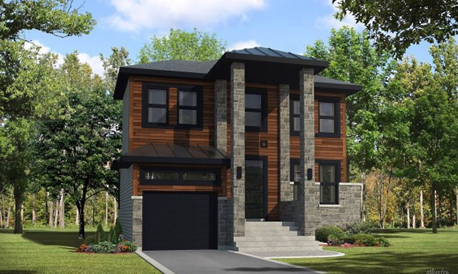 Les entreprises bsa constructions for Modele maison intergeneration